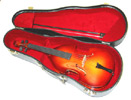Miniature Bass with Case