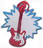 Bass Guitar - Tree Ornament