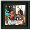 double bass picture frame
