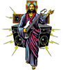 Christian Guitar Sticker