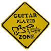 Guitar Zone Sign