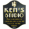 Personalized Music Studio Sign