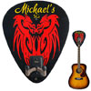 Personalized Guitar Hanger - Dragons