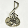 Pewter Treble Clef Ring Holder