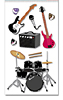 Rock Band Stickers