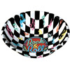 Rock & Roll Checkered Bowl