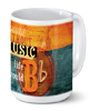 Without Music Mug\